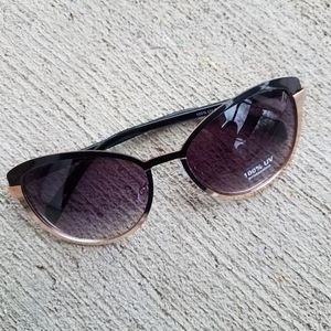 Black and Gold Sunglasses NWT